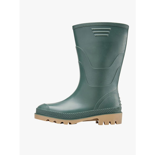 next Boys Green Solid High-Top Flat Boots