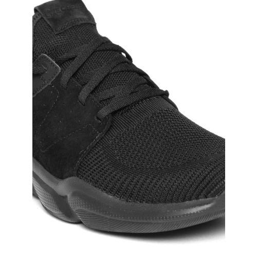 Skechers Men Black Drafter WELLMONT Training Shoes