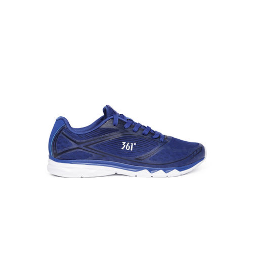 361 Degree Men Blue Running Shoes
