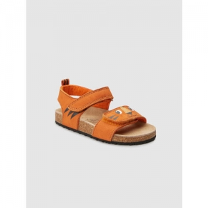 next Boys Tan Brown Leather Sandals