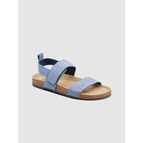 next Boys Blue Solid Sandals