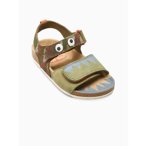 next Boys Khaki Sandals