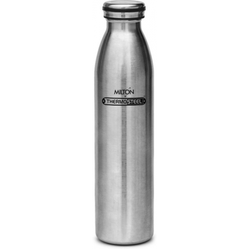 Milton Silver Thermosteel Cameo Hot & Cold Water Flask,1000 ml (Pack of 1)