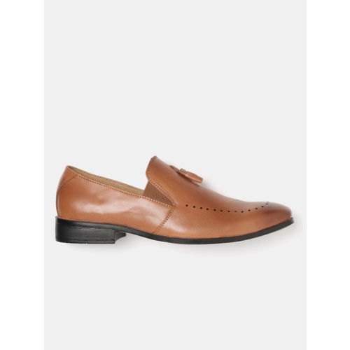 Mast & Harbour Men Tan Brown Semiformal Slip-Ons