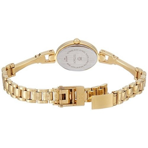 Titan Karishma NE340YM02 Golden Analog Watch For Women