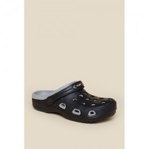 c2f2ea2b5715 Buy Zudio Black   Gray Crocs Sandals online