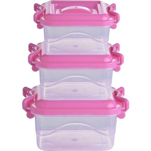 Oren Empower Maizon_LnL_P3_1.75L 3.5L 7.5L_Pink Storage Box(Pink)
