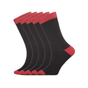 Tossido Pack of 5 Men Crew Length Socks (Packof5_119)