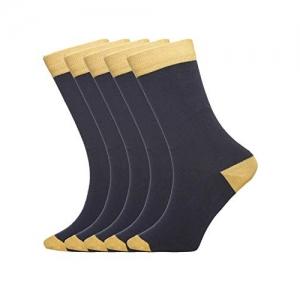 Tossido Pack of 5 Men Crew Length Socks (Packof5_115)
