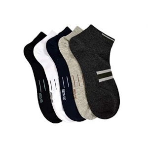 Marc Men's Ankle Length Cotton Casual Socks