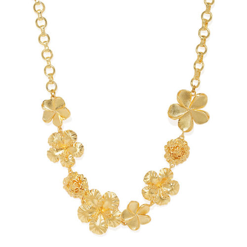 Pipa Bella Gold-Plated Brass Gold-Plated Necklace