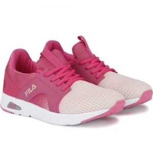 Fila LITMAN OMB Training & Gym Shoes For Women(Pink, Off White)