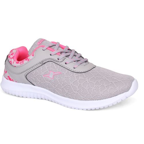 Sparx Women SL-124 Grey Pink Running Shoes For Women(Pink, Grey)