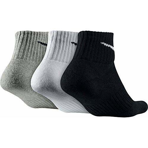 NIKE Performance Cushion Quarter Training Socks 3 Pair