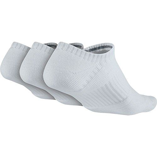 Nike Men's Dri-Fit Half-Cushion No-Show Training Socks