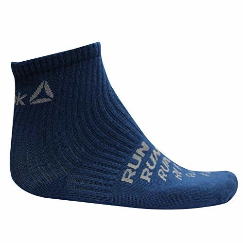 Reebok Unisex's Cotton Towel Ankle SocksPack Of 3