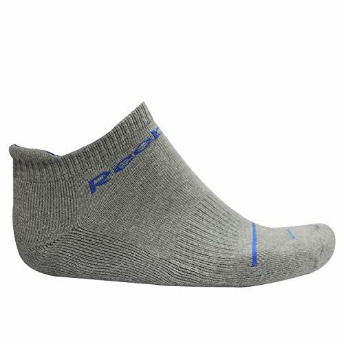 Reebok Unisex's Cotton Cotton Towel Ankle SocksPack Of 3 With Spenca BandanaPack Of 4
