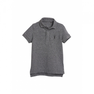 next Boys Blue Solid Polo Collar T-shirt