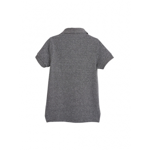 next Boys Blue Solid Polo Collar T-shirt