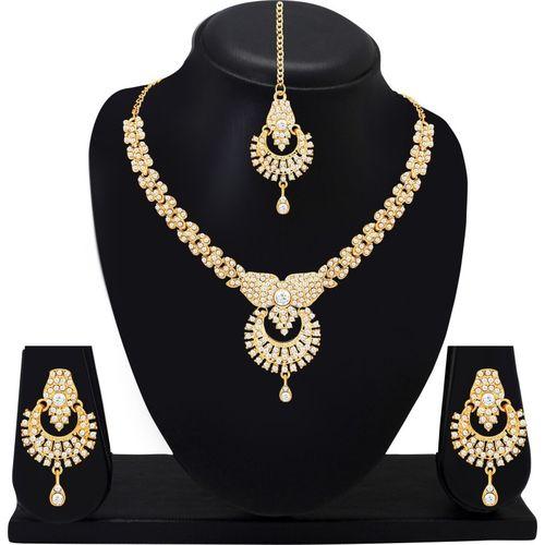 Atasi International Alloy Jewel Set(Gold, Silver)