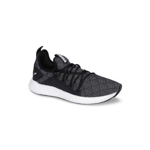 Puma Women Black Mesh Mid-Top NRGY Neko Stellar Wn s Running Shoes