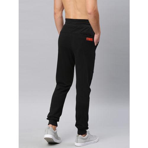HRX by Hrithik Roshan Men Black Solid Slim Fit Lifestyle Joggers