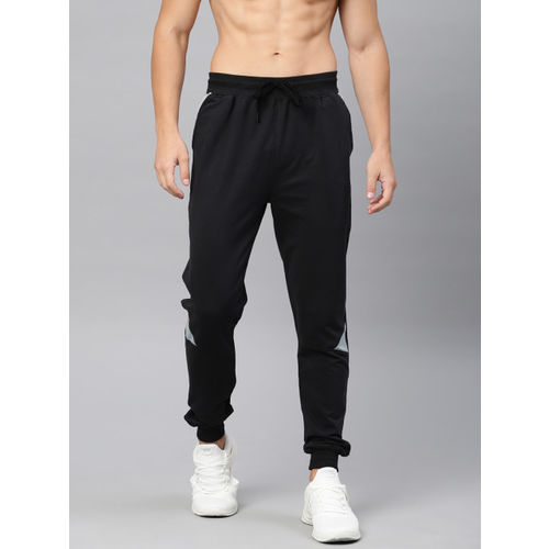 HRX by Hrithik Roshan Men Black Slim Fit Athleisure Solid Joggers