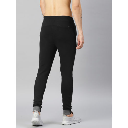 HRX by Hrithik Roshan Men Black Solid Joggers