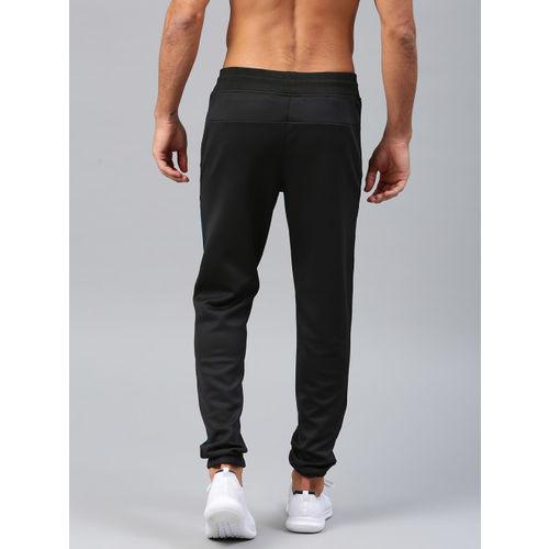 HRX by Hrithik Roshan Men Black Rapid Dry Running Track Pants