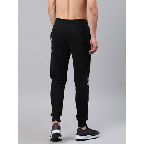 HRX by Hrithik Roshan Black Active Joggers