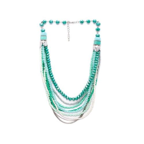 Rubans Multicolor Alloy Casual Necklace
