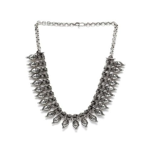 Rubans Silver Alloy Casual Necklace