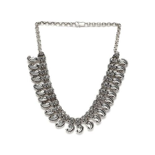 Rubans Silver Alloy Casual Necklace