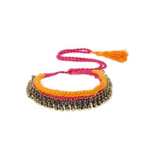 Rubans Multicolor Alloy Casual Necklace