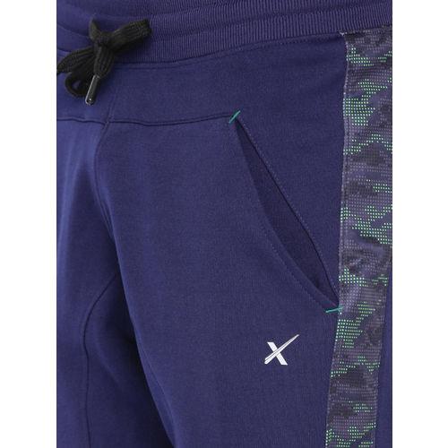 HRX by Hrithik Roshan Men Navy Blue Training Track Pants