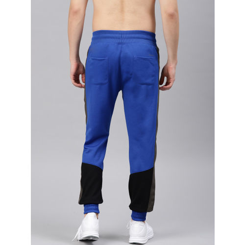 HRX by Hrithik Roshan HRX Active by Hrithik Roshan Men Blue Solid Rapid-dry Running Joggers
