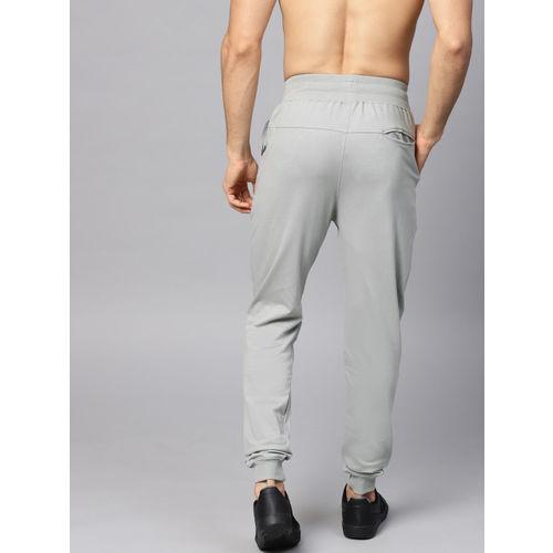 HRX by Hrithik Roshan Men Lifestyle Grey Slim fit Ottoman Joggers