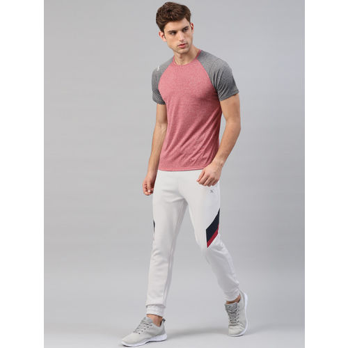 HRX by Hrithik Roshan Men Grey Solid Active RAPID-DRY Training Joggers
