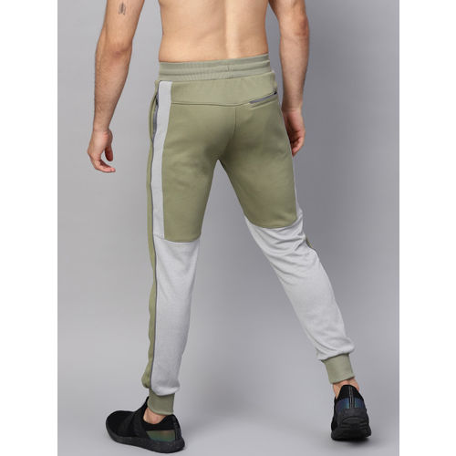 HRX by Hrithik Roshan Men Olive Green Active Running Joggers