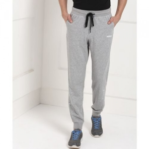 ADIDAS Self Design Men Grey Track Pants