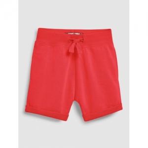 next Boys Red Solid Regular Fit Regular Shorts