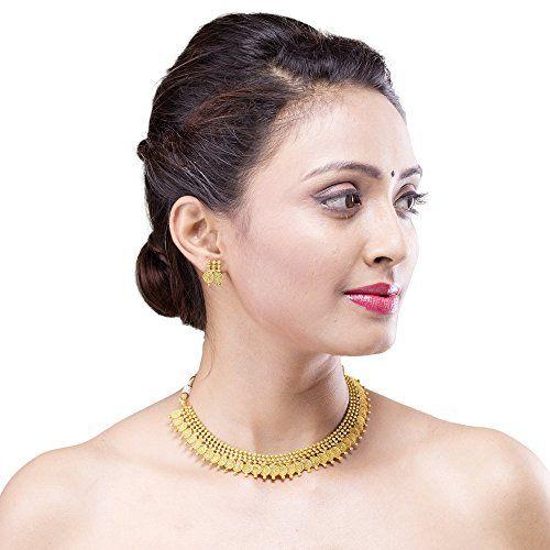 Adwitiya Collection Copper Jewel Set
