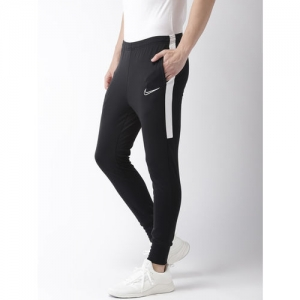 Nike Men Black Solid Slim Fit ACDMY KP Dri-FIT Football Joggers