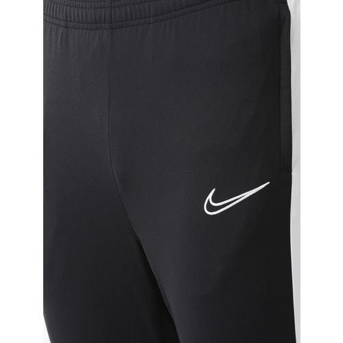 Nike Men Black Solid Slim Fit ACDMY KP Dri-FIT Football Joggers