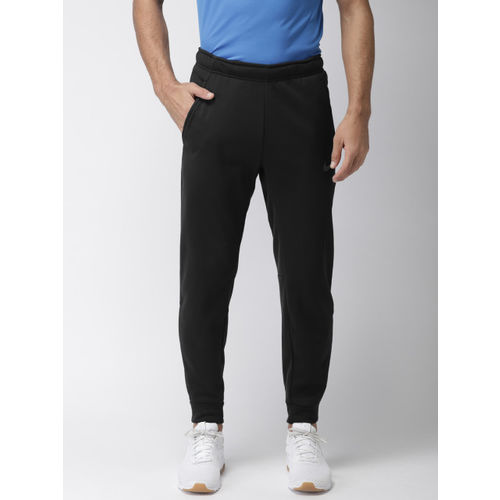 Nike Men Black Solid Standard Fit THRMA PANT TAPER Dri-FIT Training Joggers