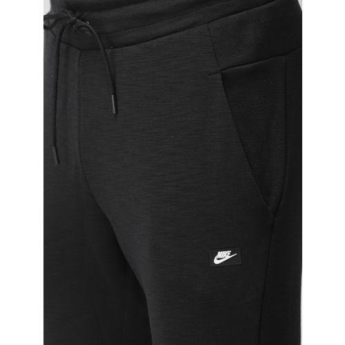 Nike Men Black AS M NSW OPTIC Standard Fit Joggers
