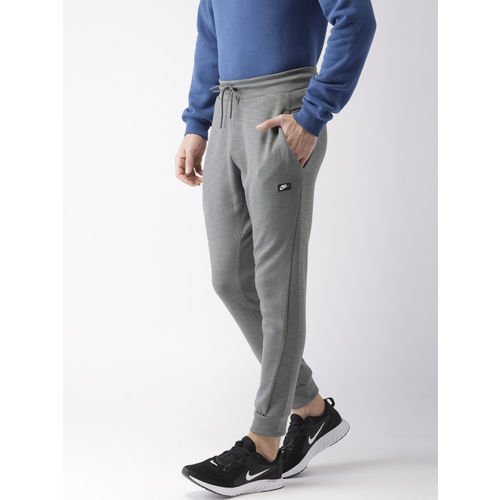 most reliable limited guantity 2020 Buy Nike Men Grey Solid Standard Fit OPTIC Joggers online ...