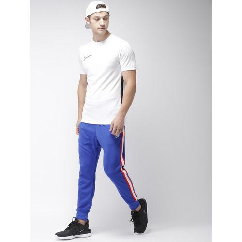 Nike Men Blue Solid HE JGGR TRIBUTE Dri-FIT Joggers