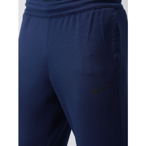 Nike Men Blue AS M NK ESSNTL KNIT Running DRI-FIT Joggers