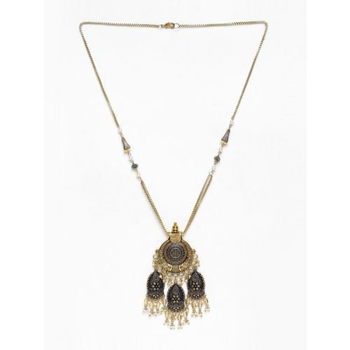 DIVA WALK Women Gold-Plated Handcrafted Necklace